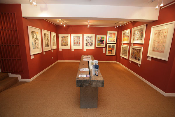 Down Stairs Gallery