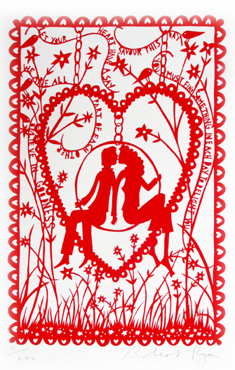 Believe In Goodness Silkscreen Limited Edition Image size 26cm x 38cm Paper Size 50cm x 63cm